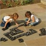 Trad Game Jumbo Wood Dominoes