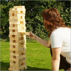Traditional Garden Games Garden Tumble Tower