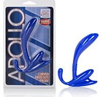 Apollo Curved Prostate Probe Blue