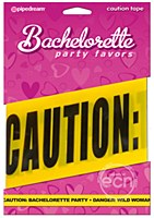 Bachelorette 20ft Caution Tape