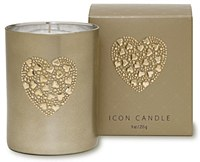 Candle-Vintage Hearts Of Heart