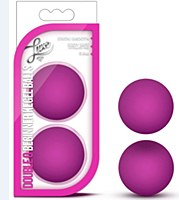 Luxe Double O Beginner Kegel Balls Pink