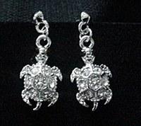 Dangle Turtle Earrings