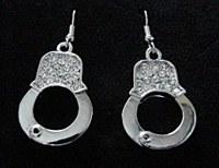 Handcuff Dangle Earrings