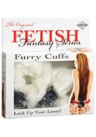 Fetish Fantasy Original Furry Cuffs White