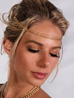 Gold Headband Chain