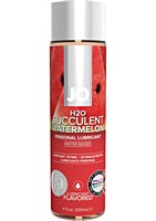 JO H2O Succulent Watermelon Flavored Personal Lubricant 4 Ounce