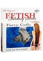 Fetish Fantasy Original Furry Cuffs Blue