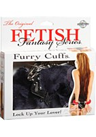 Fetish Fantasy Original Furry Cuffs Black