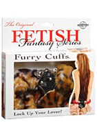 Fetish Fantasy Original Furry Cuffs Leopard