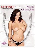 Fetish Fantasy Nipple Chain Clips