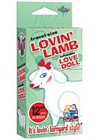 Travel Size Lovin' Lamb Blow Up Doll