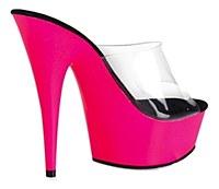 Pink UV Reactive Platform