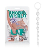 Shane's World Anal 101 Intro Beads Clear