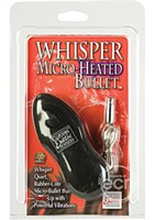 Whisper Micro Headed Bullets Black