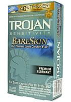 Trojan Bare Skin Sensitive Lubricated Condoms
