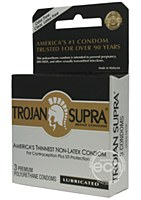 Trojan Supra Mircosheer Polyurethane Condoms