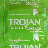 Trojan Twisted Pleasure Condom