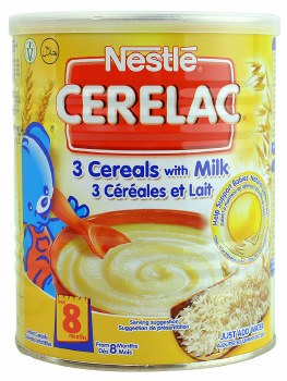 Nestle Cerelac 3cereal 400g
