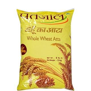 Patanjali Whole Wheat Atta11lb