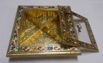 8X8 MUKHWAS BOX ACRYLIC MEENA