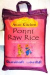 ASIAN KITCHEN PONNI RAW RICE 20LB