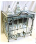 ALUMINIUM MEENAKAR CLOSE REGULAR MANDIR 36x24