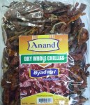 ANAND DRY WHOLE CHILI BYADAGI400G