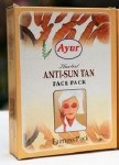 AYUR ANTI SUN TAN FACEPACK100G