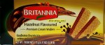 BRITANNIA CREAM WAFER HAZELNUT LRG 175 G