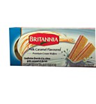BRITANNIA CREAM WAFER MILK CARAMEL LRG