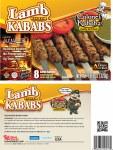 colonel kababz lamb 320g