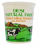 DESI YOGURT WHOLE MILK 2LB