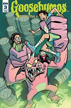 Goosebumps Monsters At Midnigh