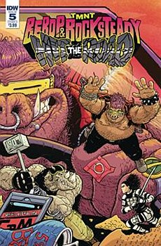 Tmnt Bebop Rocksteady Hit The