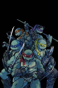 Tmnt Ongoing #101 Cvr A Campbe