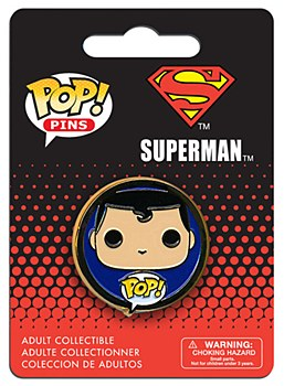 Pop Pins - Superman