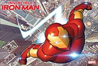 Invincible Iron Man #1 By Marq