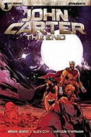 John Carter The End #1 Cvr A B
