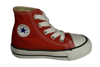CONVERSE Chuck Taylor All Star hi red Toddlers Lifestyle Shoes 03.0