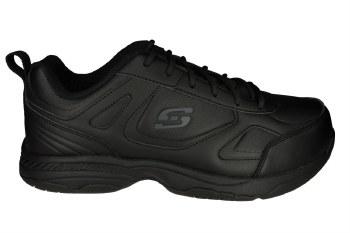 SKECHERS Dighton wide black Mens Work Shoes 07.0