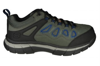 SKECHERS Relaxed Fit-Dunmor grey/blue Mens Work Shoes 09.0