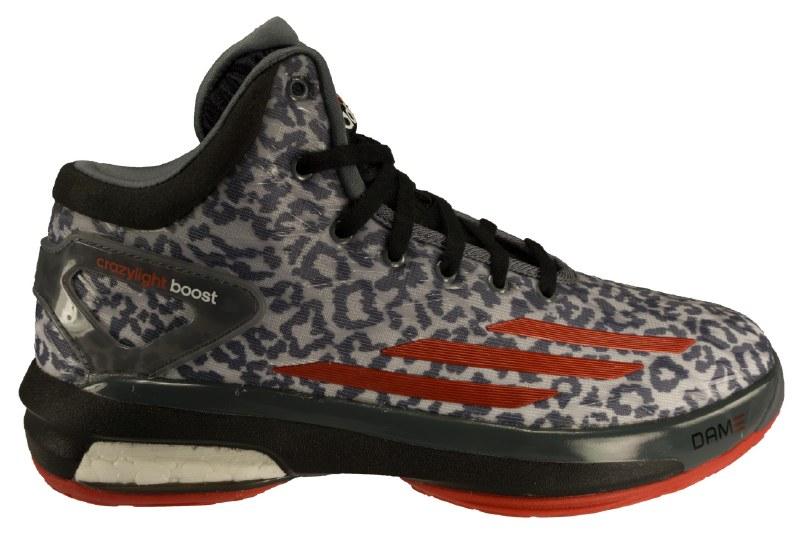 ADIDAS Crazy Light Boost onixscarlet redblack Big Kids Basketball Shoes 4.5