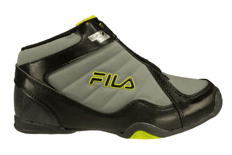FILA Leave It On The Court monumentblacklime punch Big Kid's Basketball Shoes 6