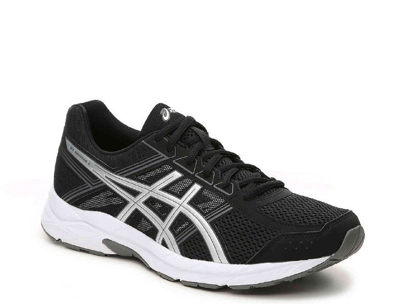 Asics Gel Contend 4 Black Silver Carbon T715N 909311.5