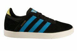 ADIDAS Busenitz ADV black/blue/gold Men's Skate Shoes 12.5