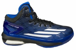ADIDAS Crazy Light Boost royal/white/black Big Kids Basketball Shoes 3.5