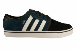 ADIDAS Seeley dark petrol/white/black Mens Skate Shoes 12.0
