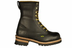 "CACTUS 9219-black Mens 9"" Logger Boot 06.5"