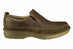 CLARK Seeley Step brown Mens Casual Slip-On Shoes 11.5